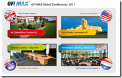 GFI Max Global Conferences 2011